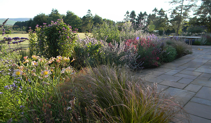 Garden design consultancy edinburgh nick burton for Garden design east lothian