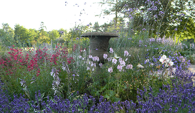 A garden design in East Lothian