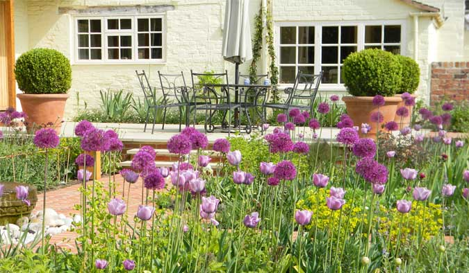 A garden design in Gloucestershire